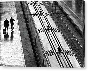 Railwaystation Canvas Print