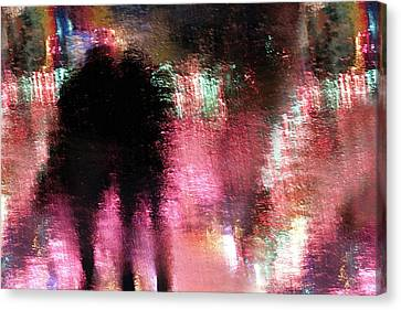 Ghost Canvas Print - Rain Above The Funfair by Stefan Eisele