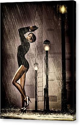 Rain Dance Canvas Print by Bob Orsillo