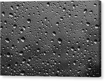 Canvas Print featuring the photograph Rain Drops.... by Photography  By Sai