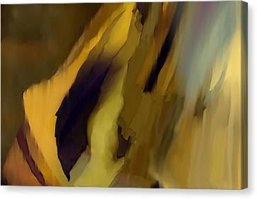 Rain Feather Canvas Print by Constance Krejci