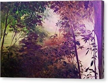 Rain Forest Rhapsody #1 Canvas Print
