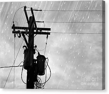 Rain Canvas Print by Jennifer Kimberly