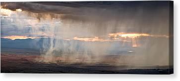 Rain Canvas Print by Leland D Howard
