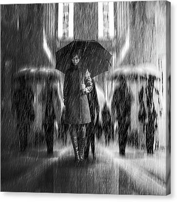 Rain Of Sadness Canvas Print
