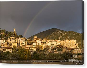 Rainbow 1 Canvas Print by Iksung N