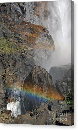 Rainbow And Mist Canvas Print