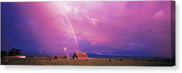 Rainbow Arcata Ca Usa Canvas Print