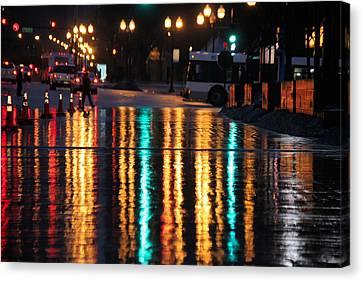 Canvas Print featuring the photograph Rainbow Ave by Jerome Lynch