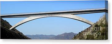 Rainbow Bridge Canvas Print by Gregory Dyer