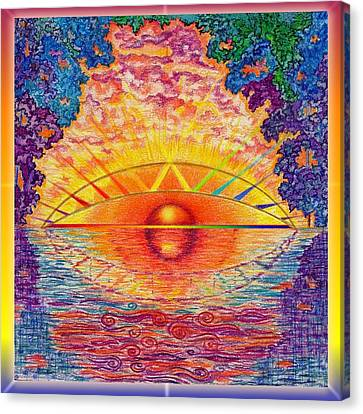 Rainbow Bridge Canvas Print by Melinda DeMent