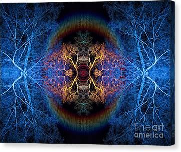Astral Canvas Print - Rainbow Bridge by Tim Gainey