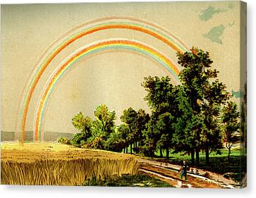 Rainbow Canvas Print by Collection Abecasis