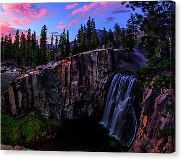 Rainbow Falls Devil's Postpile National Monument Canvas Print by Scott McGuire