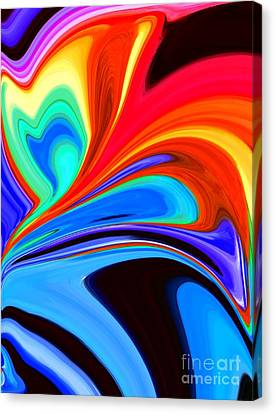 Rainbow Flare Canvas Print by Chris Butler