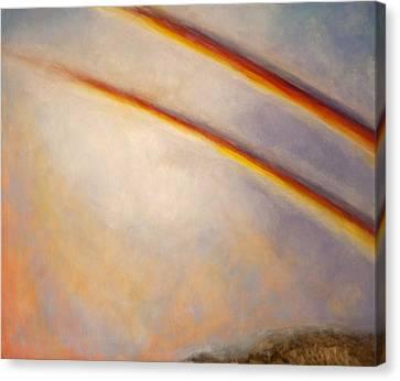 Rainbow For Grace Canvas Print