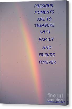 Rainbow Happiness Canvas Print by Joseph Baril