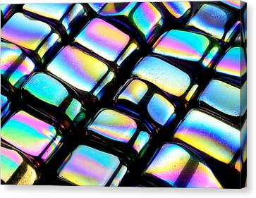 Rainbow Hematite Canvas Print by Jim Hughes