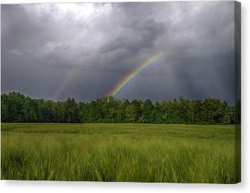 Rainbow Canvas Print by Ivan Slosar