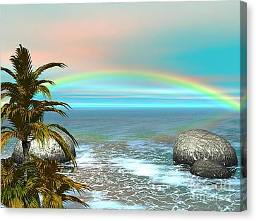 Rainbow Canvas Print by Jacqueline Lloyd