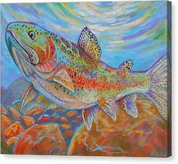 Rainbow  Canvas Print by Jenn Cunningham
