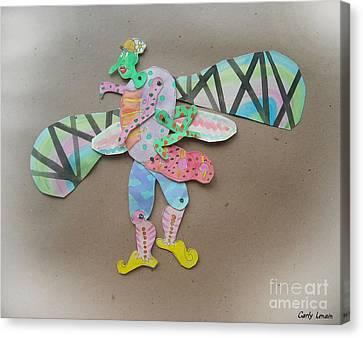 Rainbow Lady Bug 2003 Canvas Print by Carly Lenain