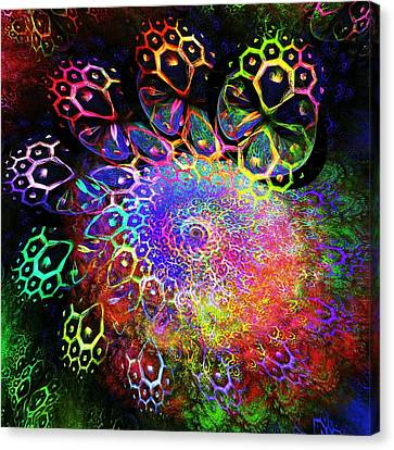 Rainbow Leopard Canvas Print by Anastasiya Malakhova