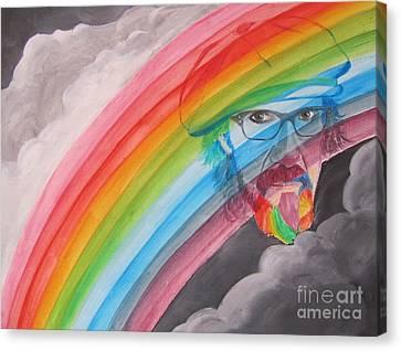 Rainbow Man Mark Hudson Canvas Print