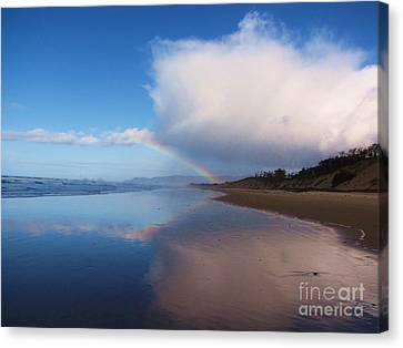 Rainbow Reflection Canvas Print