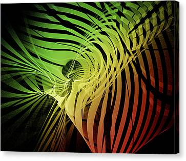 Rainbow Ribs Canvas Print