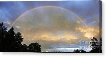 Rainbow Canvas Print by Tony Cordoza