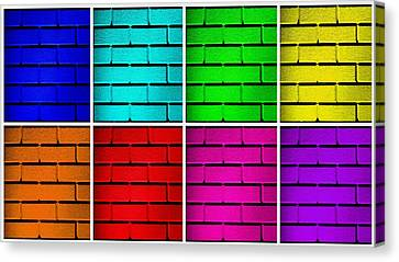 Rainbow Walls Canvas Print by Semmick Photo