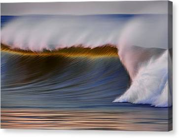 Canvas Print featuring the photograph Rainbow Wave  C6j2648 by David Orias