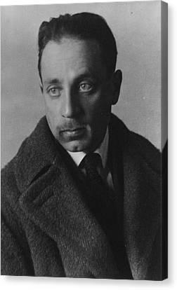 Rainer Maria Rilke Canvas Print