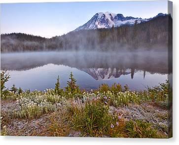 Rainier Morning Canvas Print