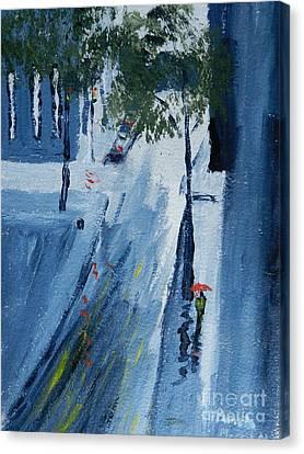 Raining Again Canvas Print