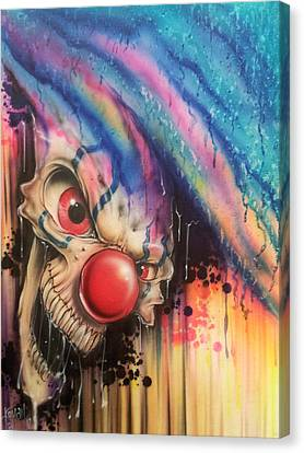 Raining Fear Canvas Print by Mike Royal