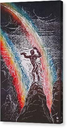 Rainmaker Canvas Print by Maria Arango Diener