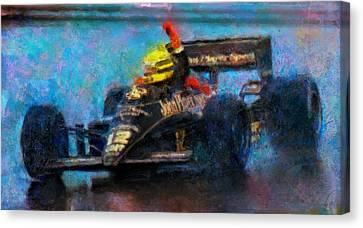 Rainman Canvas Print by Alan Greene