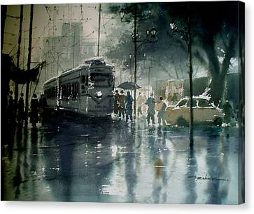 Rainwashed  Canvas Print