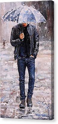 Rainy Day #23 Canvas Print by Emerico Imre Toth