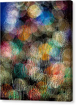 Rainy Day Christmas Canvas Print by Aaron Aldrich