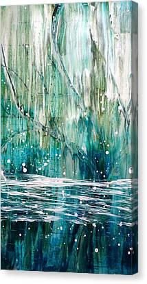 Rainy Day Canvas Print by Tia Marie McDermid