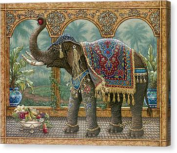 Rajah's Feast Canvas Print
