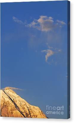 Rakaposhi Mountain Pakistan Canvas Print by Robert Preston
