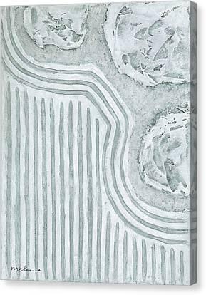 Raked Zen Garden Canvas Print