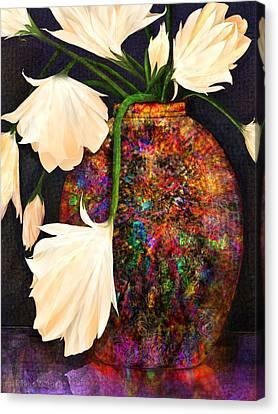 Raku Canvas Print