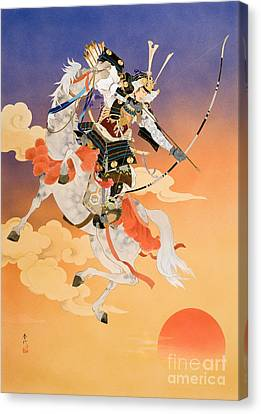 Rakujitsu Canvas Print