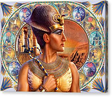 Rameses II Canvas Print by Andrew Farley
