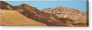 Eco-tourism Canvas Print - Ramon Crater In The Negev Desert, Israel by Panoramic Images